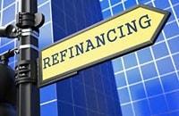 Refinance street sign