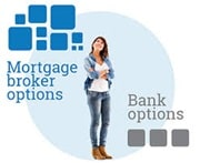 Woman considering broker or bank as her options