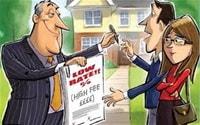 Low rate high fee cartoon
