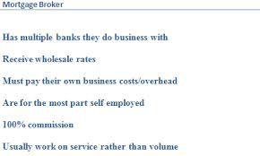 List of mortgage broker benefits