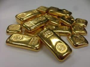 smaller 24kt gold bars