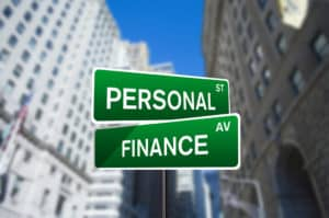 street signs saying personal st and finance st